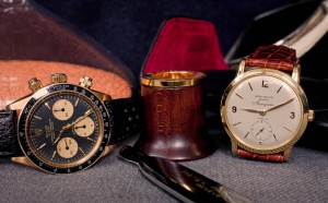 vintage gold watches